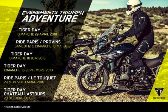 Programme Triumph Adventure 2018